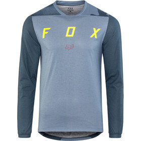 Fox Indicator Mash Camo - Maillot manga larga Hombre - azul